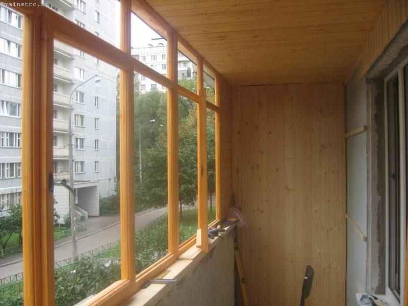 Остекление балконов лоджий своими рук.