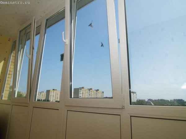 Фото распашного остекления балконов или лоджий