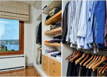 Гардеробная комната – поместиться все