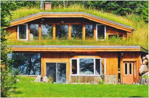Землянка или подземный дом в два этажа