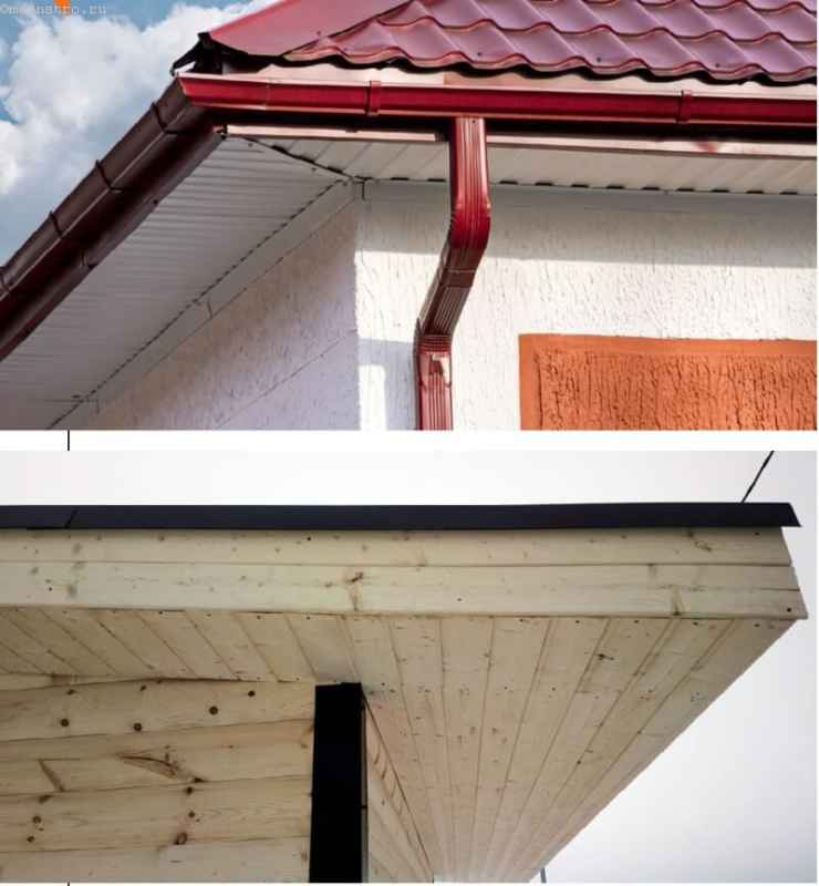 карнизный свес (софит) крыши