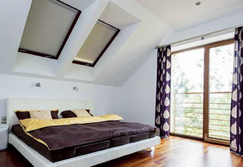 Раздвижные  шторы в спальне