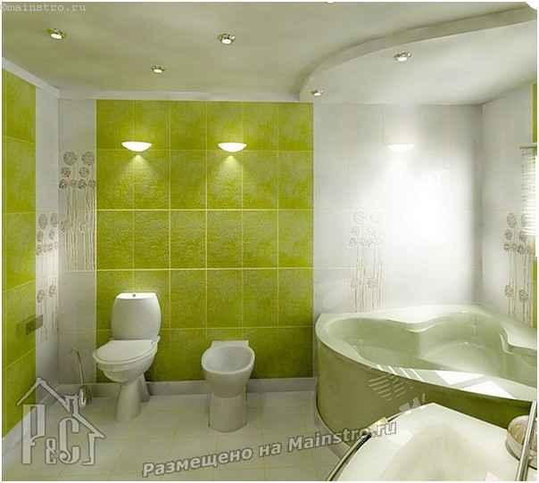 Интерьер ванной комнаты частного дома фото