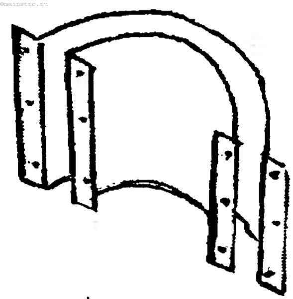 Опалубка для бетонного кольца.