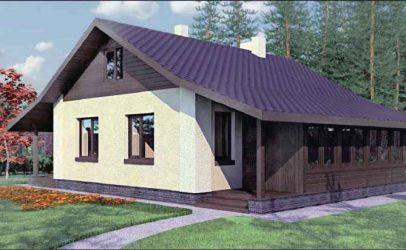 Проект дома: полный комплект чертежей с описанием и рекомендациями