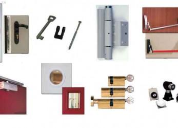 Установка противопожарных дверей – пошаговая инструкция с фото