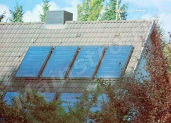 Солнце на крыше