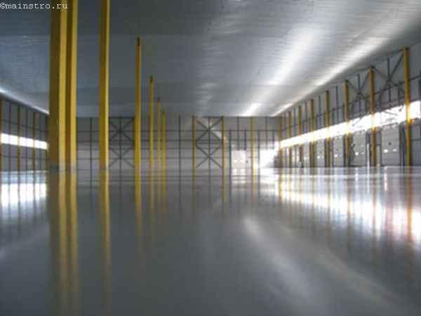 Устройство бетонных промышленных полов