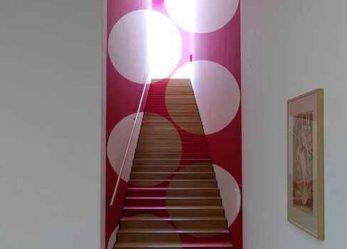 Оптическая иллюзия в интерьере