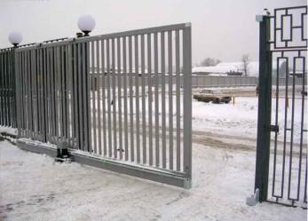 Как самостоятельно изготовить ворота раздвижные