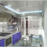 Натяжные потолки для кухни фото интерьеров и отзывы заказчиков