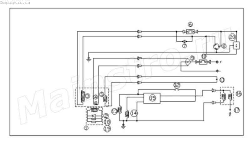 Инверторный трехфазный генератор