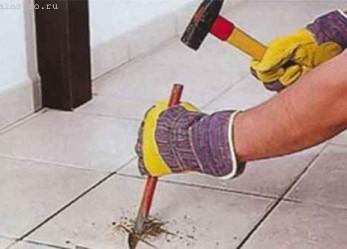 Удаление керамической плитки: последовательность, рекомендации