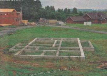 Ошибки при возведении фундамента загородного дома.