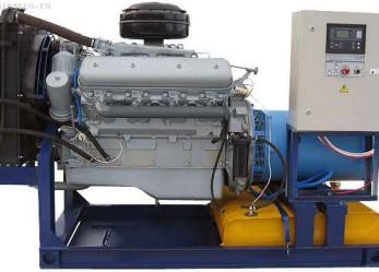 Дизельные генераторы АД (ДЭС): состав, характеристика, автоматизация