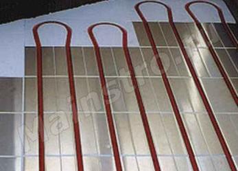 Устройство системы напольного отопления на деревянных балках