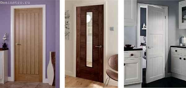 Межкомнатные двери из разных пород дерева