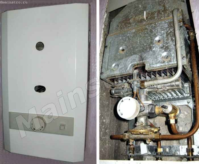 Проточный водонагреватель (газовая колонка)
