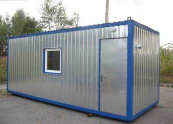 Как осуществляется производство бытовок контейнеров строительных?