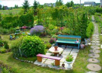 Правила размещения построек на садовом участке