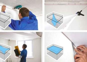 Натяжные потолки: материал, цена и секреты установки