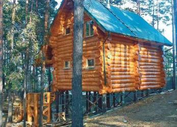 Дом из кедра