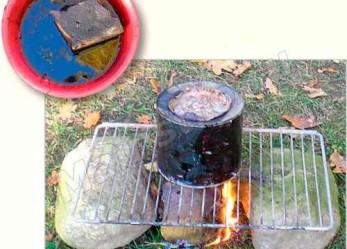Кирпич, который горит