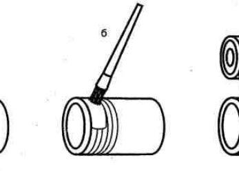 Как наматывать паклю, ленту фум