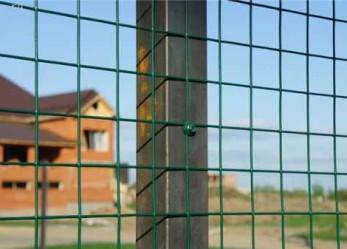 Временный забор для загородного участка