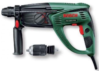 Перфоратор Bosch PBH 2900 FRE:  обзор, характеристики, отзывы
