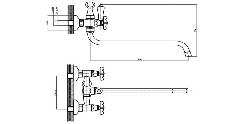 Как установить эксцентрик для смесителя?