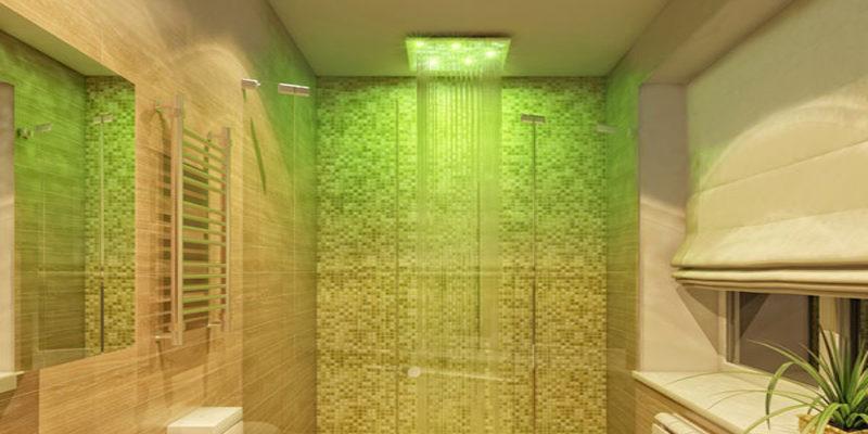 Встроенный душ – дополнительный комфорт