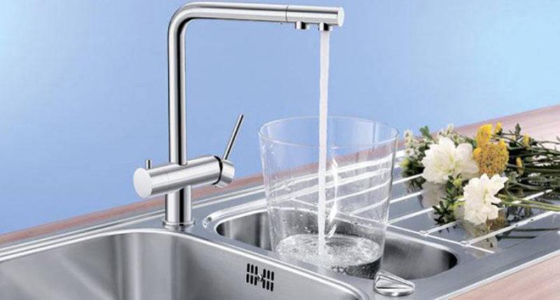 Смеситель для кухни Blanco Fontas (хром)