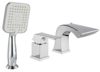 Однорычажный смеситель для ванны Lemark Unit LM4545C