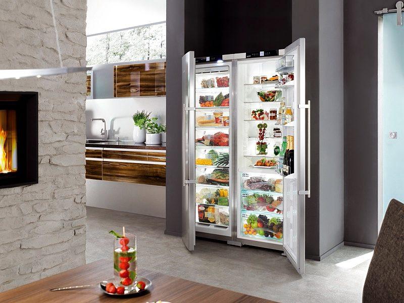 Топ - 5 популярных холодильников SIDE BY SIDE
