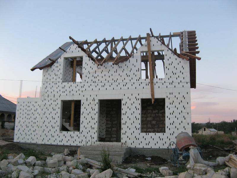 несъемная опалубка при стройке дома