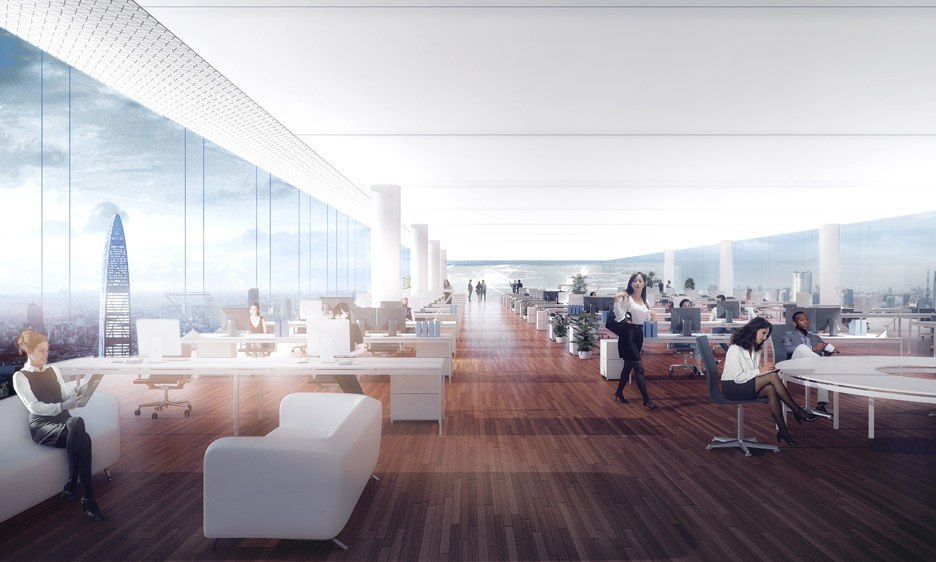Новый супер небоскреб для Китая Nexus Tower4