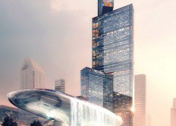 Новый супер небоскреб для Китая Nexus Tower