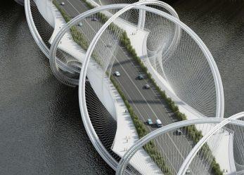 """Олимпийский мост в Китае Сань-Шань """"Три горы """""""