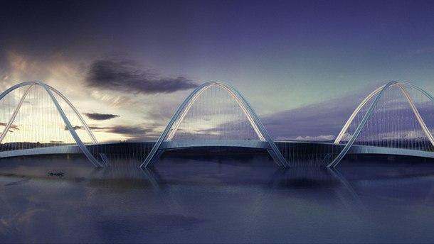 """Олимпийский мост в Китае Сань-Шань """"Три горы """" 3"""