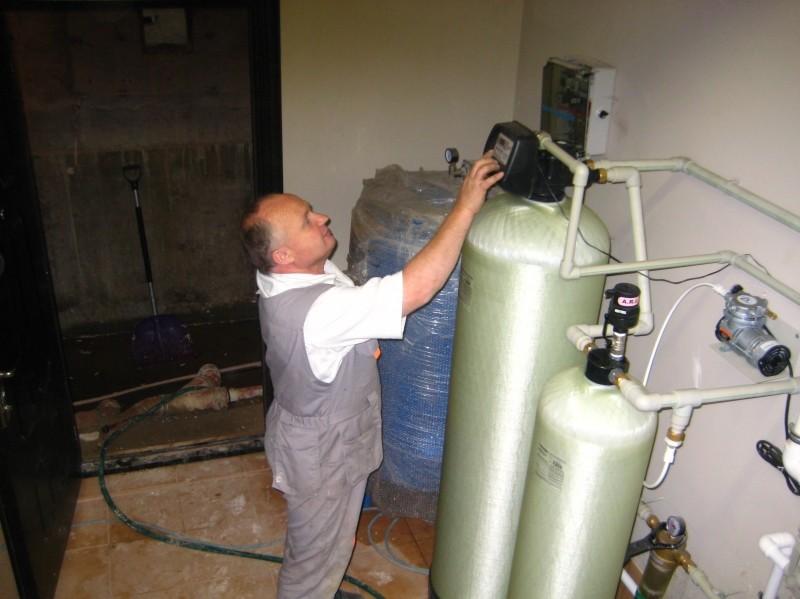 Установка и настройка станции водоочистки