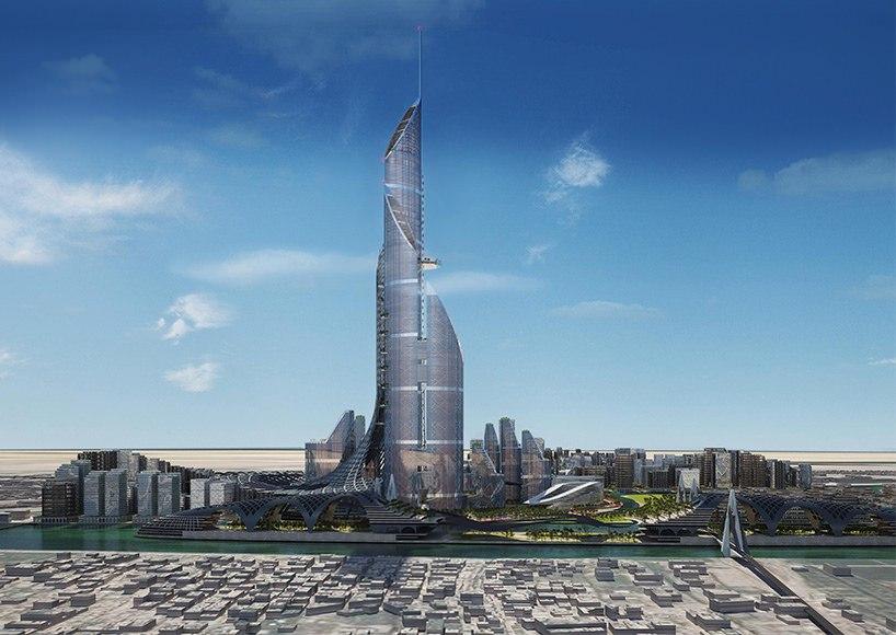 вертикальный город для Ирака The Bride7