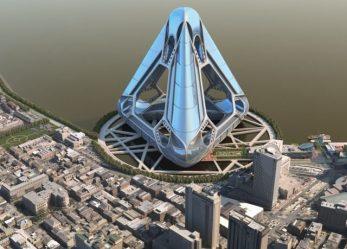 Жилой комплекс NOAH «The New Orleans Arcology Habitat» на воде в Новом Орлеане, США