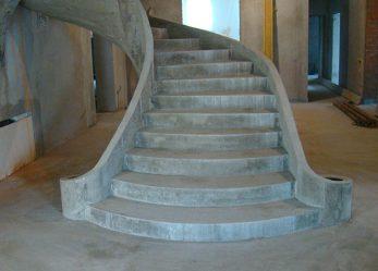 Строительство бетонной лестницы: типы конструкций
