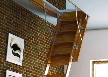 Особенности выбора лестницы для чердака