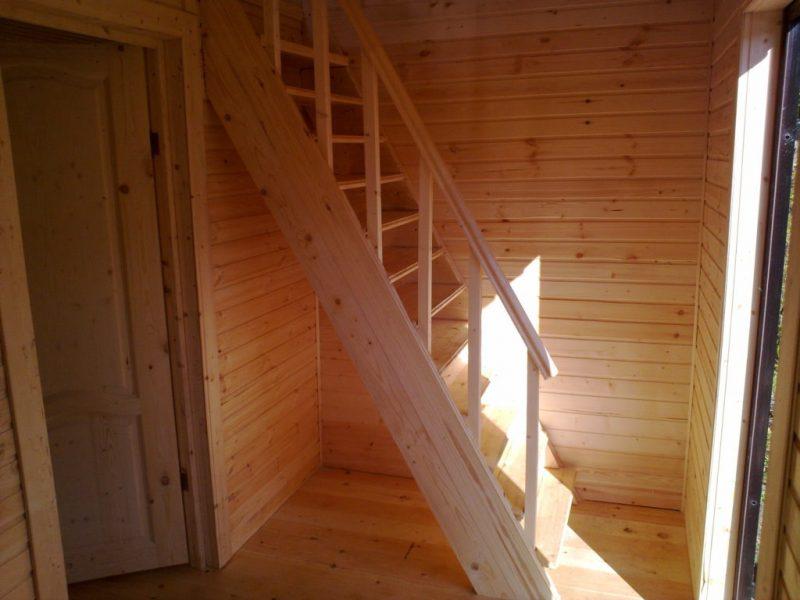 лестница под крутым углом