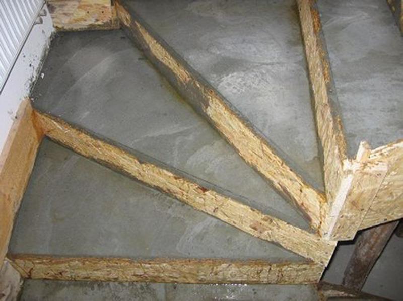 Как залить ступеньки из бетона своими руками