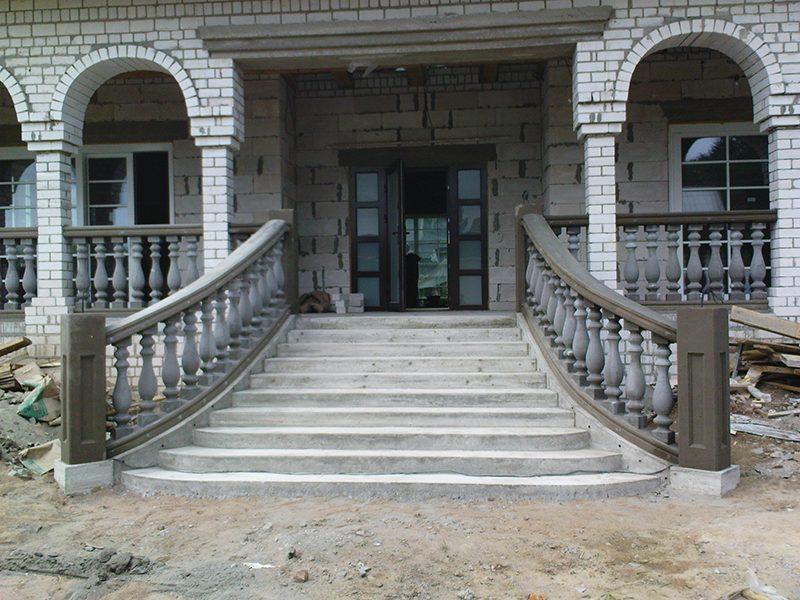 лестница бетонная
