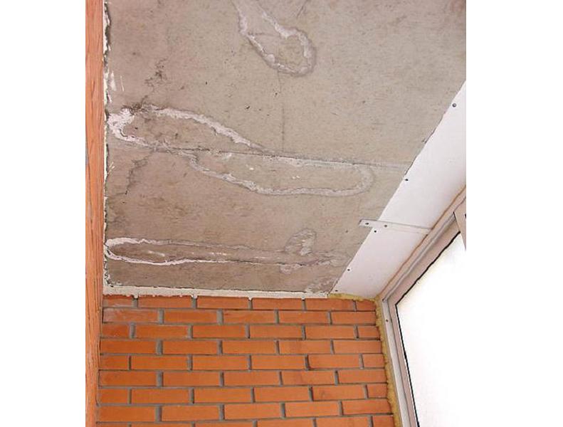 Если крыша балкона протекает: что делать, куда обращаться?.