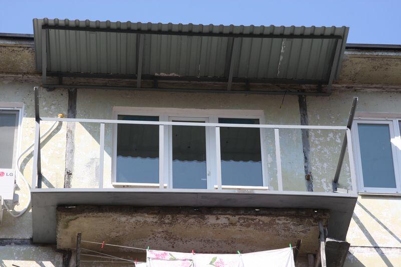 Как сделать крышу балкона последнего этажа своими руками 798